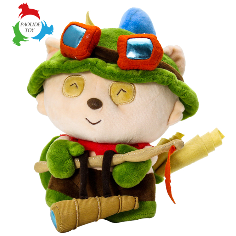 Teemo Custom professional stuffed china plush toy