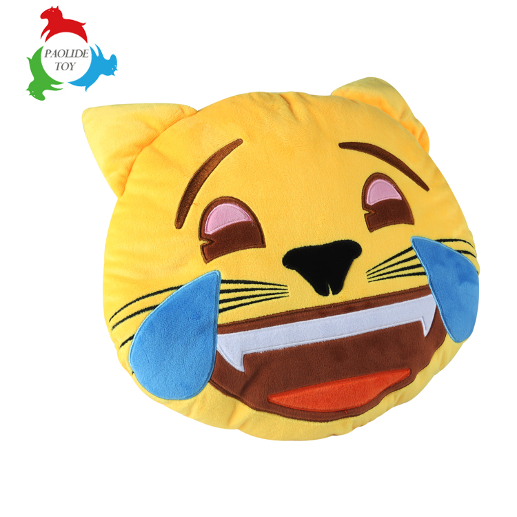 More than 30 kinds Customized pillow slipper keychain toy emoji series