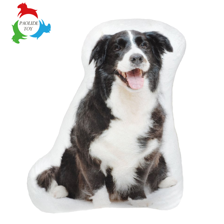 Thermal transfer printing animals shaped pillow /cushion