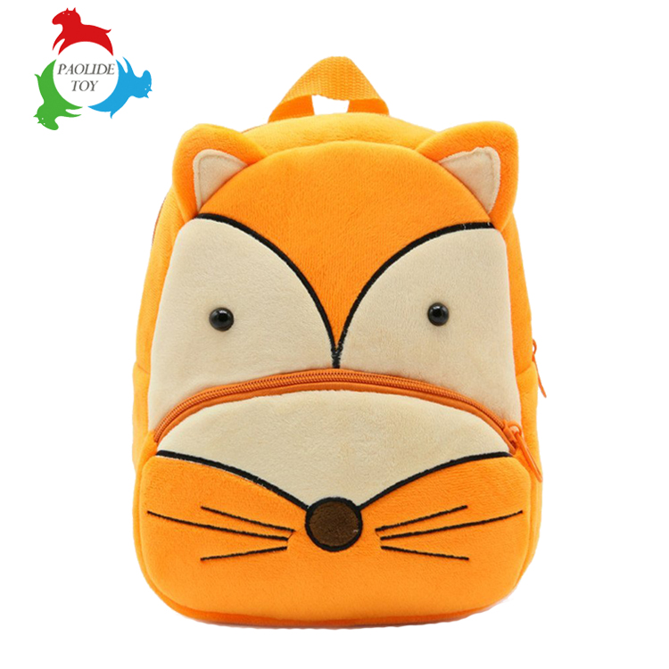 Customized cartoon animal plush toys children's bag