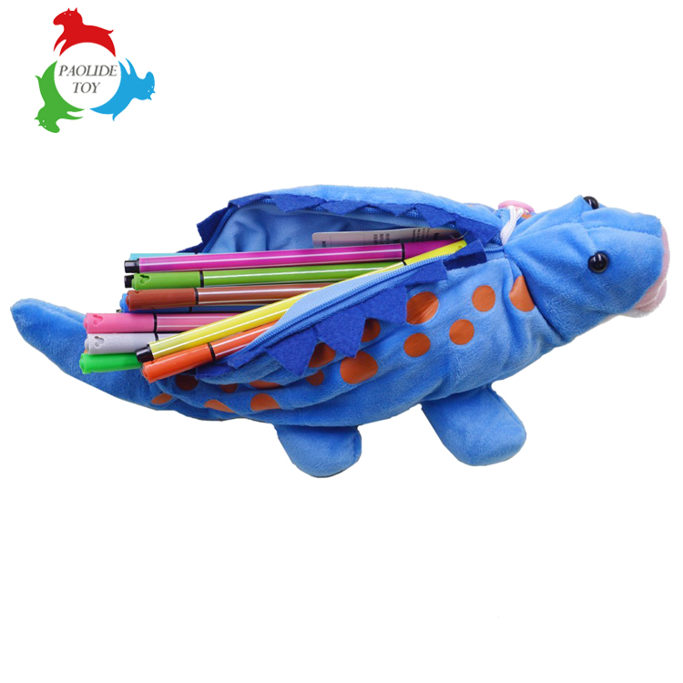 High-capacity cartoon animals pen bag for boys and girls gifts