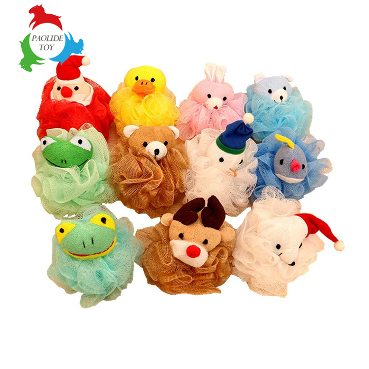 Paolide toy custom wild animal sponge puff in assorted styles